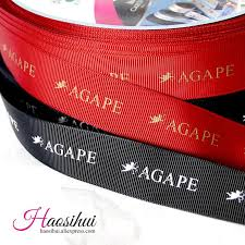 printed ribbons for favors free design 3 8 10mm grosgrain ribbon personalized favors