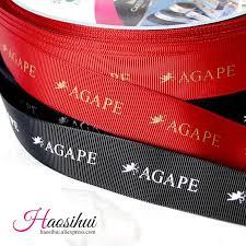 printed ribbons for favors free design 3 8 10mm grosgrain ribbon personalized favors