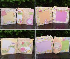 baby girl scrapbook album mini scrapbook album mini album baby girl mini album srapbook