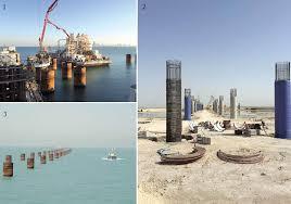 world highways kuwait u0027s key causeway contract under construction