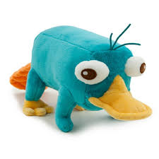 disney phineas and ferb 9 inch plush figure perry the