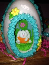 sugar easter eggs with inside brickman easter bunnies at carousel candies