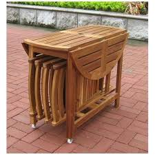 Outdoor Folding Dining Tables Wood Folding Dining Table Sanblasferry
