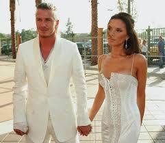 beckham wedding dress david and beckham to renew wedding vows at lake como to