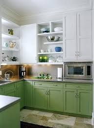 turquoise painted kitchen cabinet kitchen after renovation with