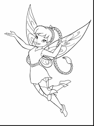 outstanding disney tinkerbell coloring pages with disney coloring
