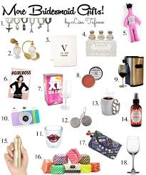 bridesmaids gift ideas creative bridesmaid gift ideas part ii