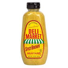 koops mustard bulk deli market deli spicy brown mustard 12 oz at dollartree