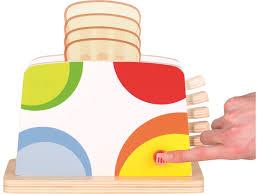 toaster kinderküche goki toaster für die kinderküche mit zubehör lindenholz 9 teilig