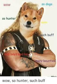So Doge Meme - wow so hunter d boyz bpd bo so doge wow ch buff many bounties wow