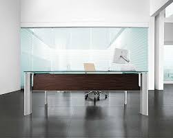 home interior elegant home office room with a big desk and