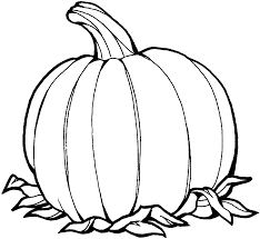 printable pumpkin coloring pages a simple pumpkin coloring page in