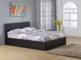 Small Beds by Black 4ft Small Double Storage Ottoman Gas Lift Up Bed Frame