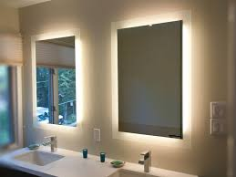 Pinterest Bathroom Mirrors Mirror Design Ideas Contemporary White Backlit Bathroom Mirrors