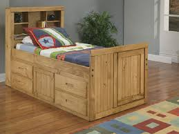decorative twin captains bed with storage practically twin