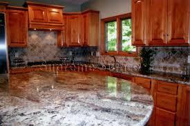 Tumbled Marble Backsplash Pictures by Stone Tile Backsplash