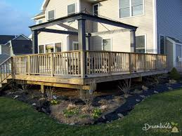 easy diy pressure treated wood deck skirting ideas in 4 days