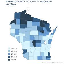 Counties In Wisconsin Map by Wisconsin U0027s U0027comparatively Unimpressive U0027 Jobs Recovery Wiscontext