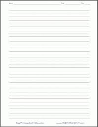 blank writing sheet blank lined paper handwriting practice