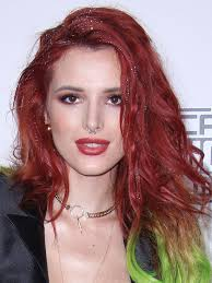 sparkly hair thorne rocks sparkly orange green hair at amas or