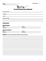 this is a worksheet template for using when introducing