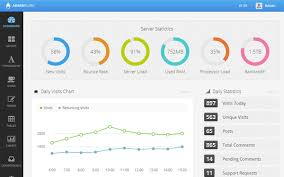 top 10 bootstrap dashboard themes for webmasters popular