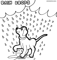 rain coloring pages coloring pages to download and print