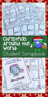 christmas around the world activities scrapbook and writing