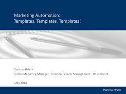 marketing automation templates