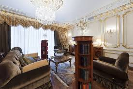 options of the living rooms in the eclecticism style studio