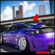 mitsubishi purple amazon com mitsubishi eclipse rear window roof spoiler 2006 2012