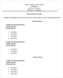 objectives resume sample grad resume template resumes examples for students
