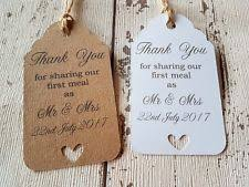 wedding gift tags personalised wedding gift tags ebay