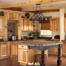 Hickory Kitchen Cabinets Assembled Hickory Kitchen Cabinets These Hickory Kitchen