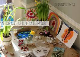 nature exploration table the imagination tree
