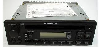 honda odyssey anti theft radio code 2000 2002 honda odyssey ex factory am fm radio cd player stereo