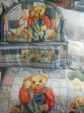 Denim Crib Bedding Blue Jean Teddy Nursery Bedding Designed How You Want