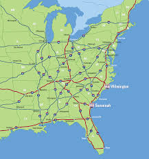 Highway Map Highway Access Colonial Terminals Inc