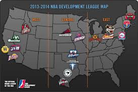 map of nba teams 5 things you probably didn t about the nba d league mad