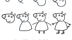 how to draw a pig step by step drawing pencil