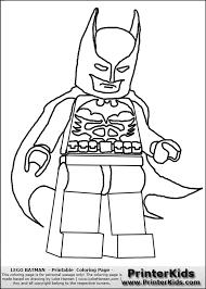 Lego Coloring Pages Batman Lego Printable Coloring