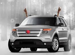 reindeer ears for car reindeer antler clip on car set ezlettering