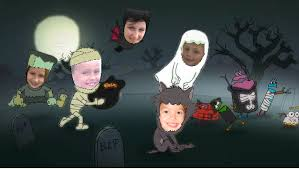 a free halloween ecard featuring your own kids we mean scary