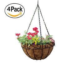 hanging planters amazon com