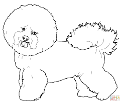maltese dog coloring page free printable coloring pages