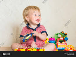kid play car portrait beautiful baby boy on image u0026 photo bigstock
