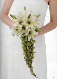how to make a wedding bouquet cascading orchid wedding bouquet from florist review