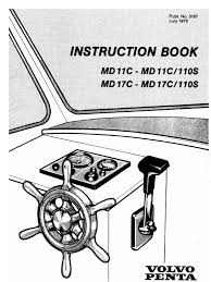 volvo penta md11c user manual diesel engine fuel injection
