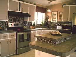 Easy Kitchen Makeover Ideas Cozy Inexpensive Kitchen Furniture With New Look Cabinet And Low