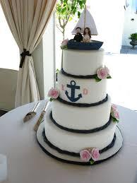 nautical themed wedding cakes brilliant decoration nautical wedding cake toppers peaceful ideas
